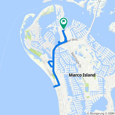 Anglers Cove 1011, Marco Island to Anglers Cove 1011, Marco Island