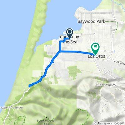440 Binscarth Rd, Los Osos to 1001 Los Osos Valley Rd, Los Osos