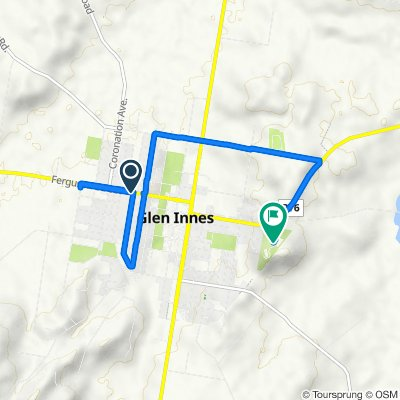 Ferguson Street 191, Glen Innes to Watsons Drive 59, Glen Innes