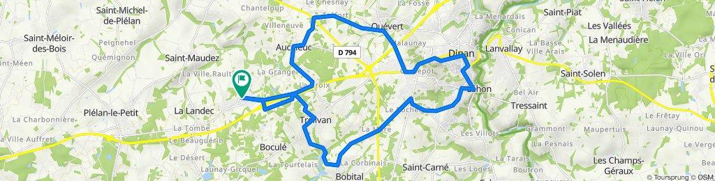 De Rue des Templiers 20, Vildé-Guingalan à Rue des Templiers 20, Vildé-Guingalan