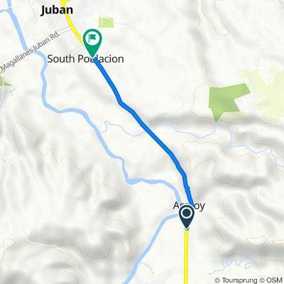 R2C4+W26, Juban to RXRV+QHG, Juban