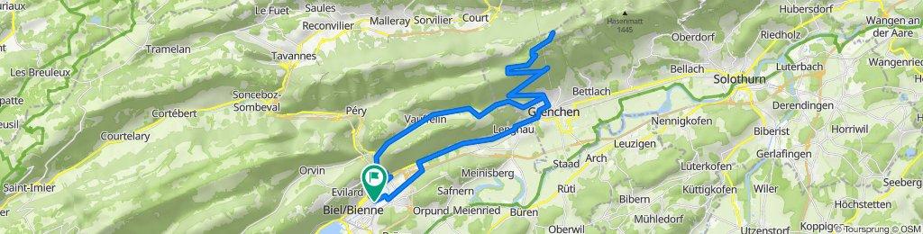 P-Biel/Grenchenberg/Romont (54 km)