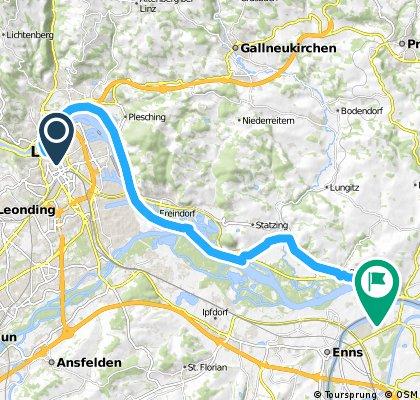 Linz - Mauthausen 26 km
