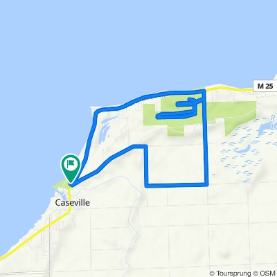 First St, Caseville to First St, Caseville