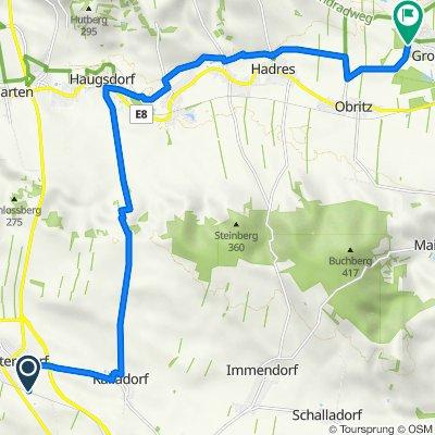 Von Guntersdorf nach Seefeld