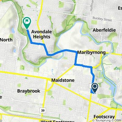 10–16 Owen Street, Footscray to 61 Thompson Street, Avondale Heights
