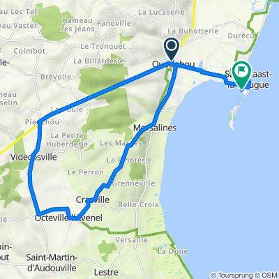 De Chemin des Allures 3, Quettehou à Rue de la Gallouette 10 B, Saint-Vaast-la-Hougue