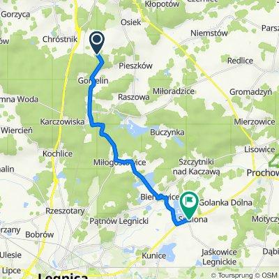 Trasa do Legnicka 37, Spalona