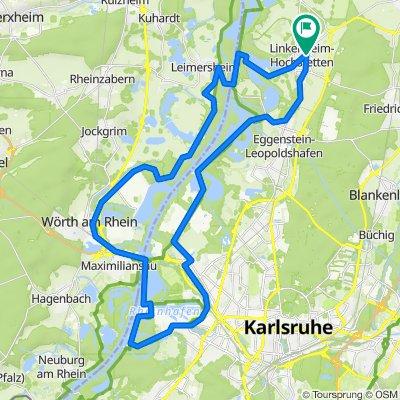 Linkenheim - KA - Pamina-Rheinauen-Rundtour 5