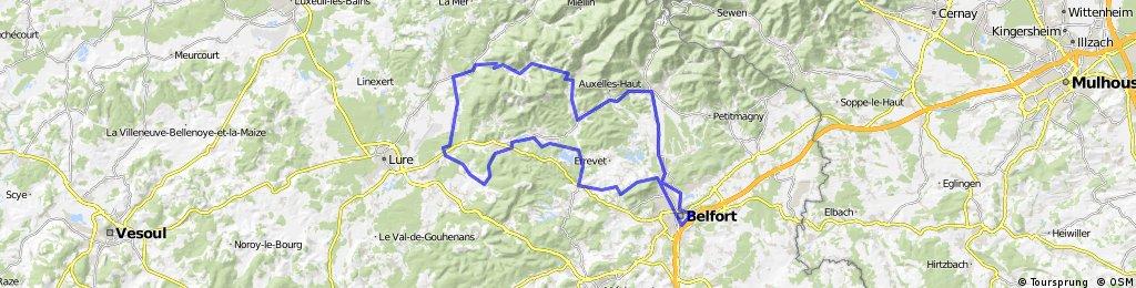 CSA CYCLO col de la Chevestraye 90 km