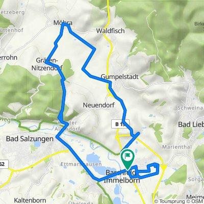 B19 33, Barchfeld nach B19 33, Barchfeld