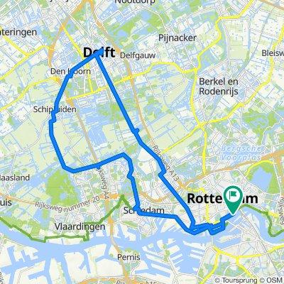 Boat and Bike Rotterdam - Delft