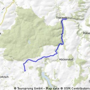Von Tharandt nach Colmnitz bei Freiberg