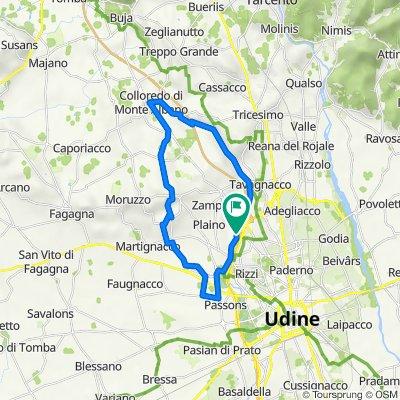 Medio Friuli fra Parco del Cormor e S.Margherita Gruagno