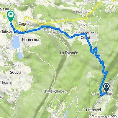 De 3 Prenovel de Bise, Prénovel à Rue de Bériat, Clairvaux-les-Lacs