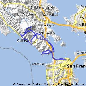 Golden Gate, Stinson Beach, Mt. Tamalpais
