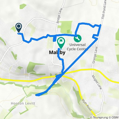 35 Conrad Dr, Rotherham to Norwood Close, Maltby, Rotherham
