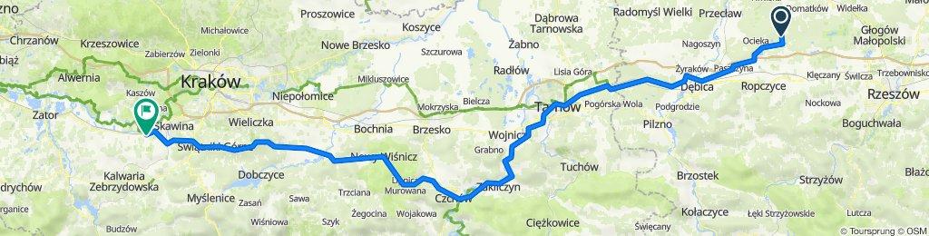 Kamionka -Tarnów -Zelczyna