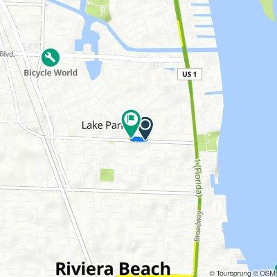 415 Park Ave, Lake Park to 501 Park Ave, Lake Park