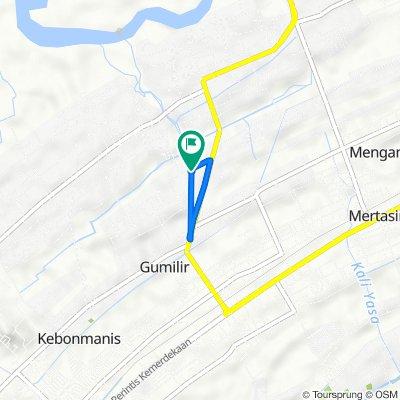 Jalan Angsana 20, Kecamatan Cilacap Utara to Jalan Angsana 20, Kecamatan Cilacap Utara