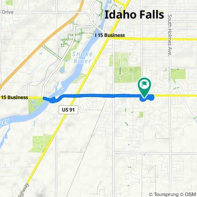 Stone Run Lane 159, Idaho Falls to Stone Run Lane 159, Idaho Falls