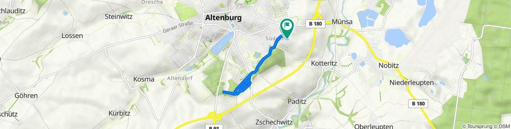 Altenburg Stadtwald 16.8.2021