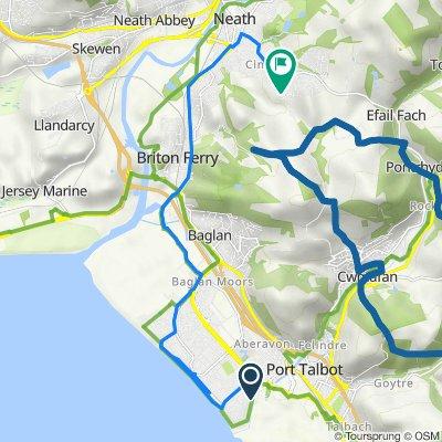 4–6 Darwin Road, Sandfields, Port Talbot to 23 Bwlch Road, Neath