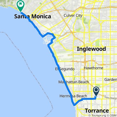 184th Place 3813, Torrance to Pacific Coast Highway 14755, Santa Monica