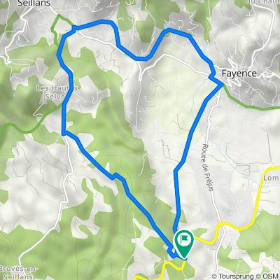 75 Chemin de la Bane, Saint-Paul-en-Forêt do 74 Chemin de la Bane, Saint-Paul-en-Forêt
