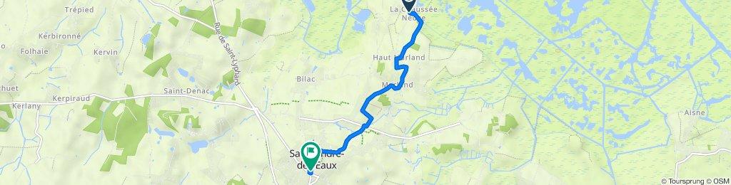 De La Chaussée-Neuve, Saint-André-des-Eaux à Place de l'Église, Saint-André-des-Eaux