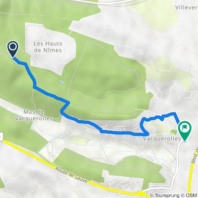 De Chemin Caveirac Mas de Ponge, Nîmes à 1095 Chemin du Grand Bois, Nîmes