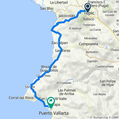 Tepic - Puerto Vallarta