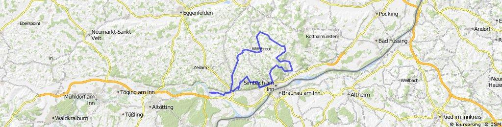 Marktl - Stubenberg - Wittibreut - Marktl