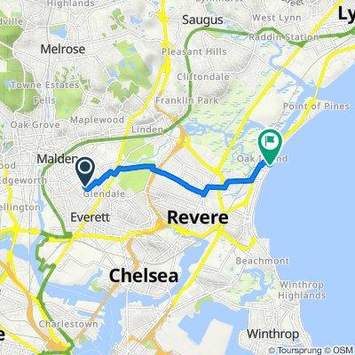 35 Myrtle St, Everett to 401–405 Revere Beach Blvd, Revere
