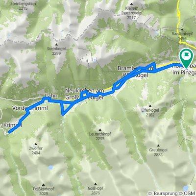 Hollersbach-Krimml-Hollersbach