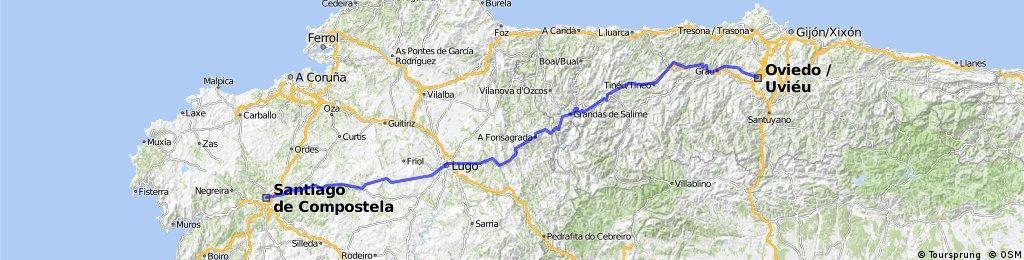 """Camino de Santiago """"Primitivo"""""""