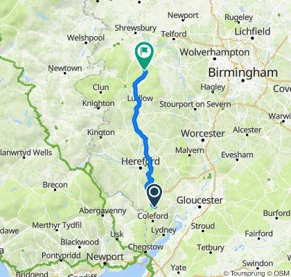 Lejog 04 - 05: Welsh Bicknor to Wilderhope Manor