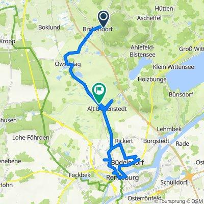 Wichelweg 14A, Brekendorf nach Owschlager Damm, Alt Duvenstedt