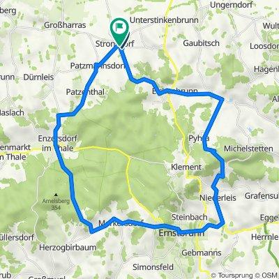 Stronsdorf Radfahren
