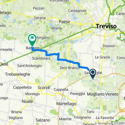 Da Via Tasca 1, Campocroce a SP68 44, Badoere