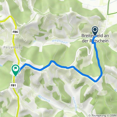 Breitenfeld 20, Breitenfeld an der Rittschein nach Lembach bei Riegersburg 16, Lembach-Egg