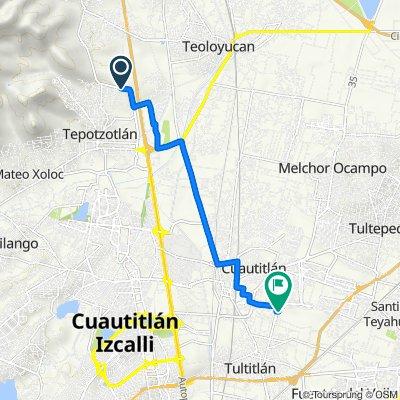 De Loma Bonita, Tepotzotlán a M. de Apan 18, Cuautitlán