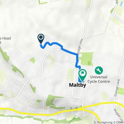 10 Huntington Way, Rotherham to 6 Norwood Close, Rotherham