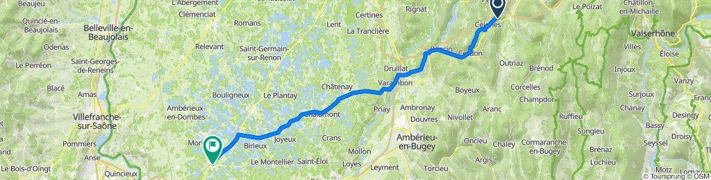 De D1084, Maillat à 11 Rue des Millières, Saint-André-de-Corcy