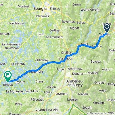 De D1084, Maillat à D2, Birieux