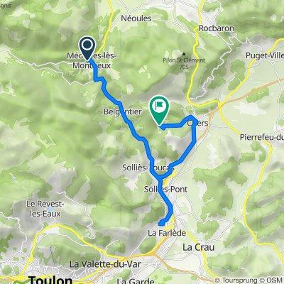 Méounes-lès-Montrieux Cycling