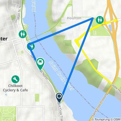 6357–6375 St Croix Trail N, Stillwater to 805–809 Main St S, Stillwater