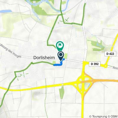 De Grand' Rue, Dorlisheim à 12 Rue de l'Hospice, Dorlisheim