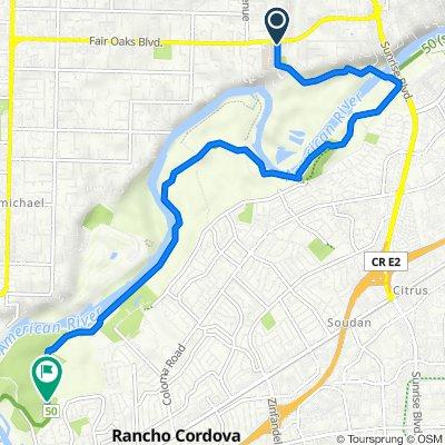 3960 Bannister Rd, Fair Oaks to American River Bike Trail, Rancho Cordova