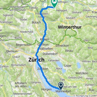 Seestrasse 31A, Männedorf nach Flaachtalstrasse, Dorf